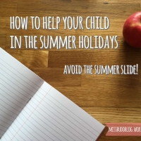 Avoid the Summer Slide! How to help your child in the summer holidays