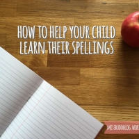 How to help your child learn their spellings
