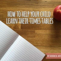 How to help your child learn their times tables