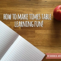 How to make times table learning fun!