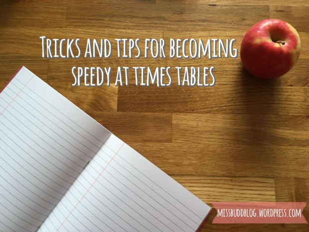Tricks and tips for becoming speedy at times tables
